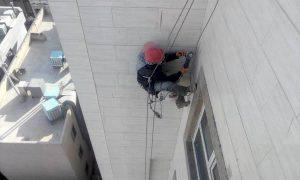 مقاوم کردن نمای ساختمان