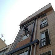 پیچ و رولپلاک سنگ ساختمان