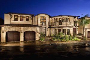 نماشویی- نمای بیرونی ساختمان با سنگ تراورتن