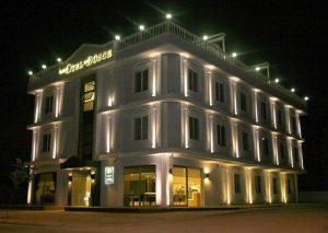 طراحی نورپردازی نمای ساختمان