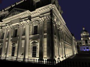 نور پردازی نمای ساختمان