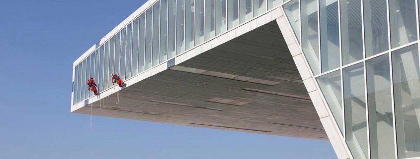 نماشویی - پیچ و رولپلاک نمای ساختمان