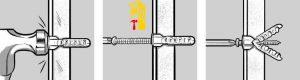 نماشویی - چگونگیه قرار گرفتن پیچ و رولپلاک